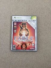 Fable: The Lost Chapters (Platinum Hits) (Microsoft Xbox, 2005) w/instructions