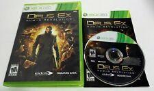 cib Deus Ex: Human Revolution (Microsoft Xbox 360, 2011) complete