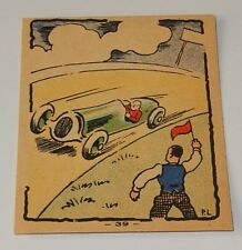 Image Collection BANANIA N° 39 : Champions du volant Records ALBUM D'IMAGES 1936