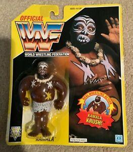 WWF Kamala MOC HASBRO series 7 Wrestling Figure NIB 1993