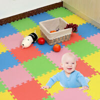 CW_ AB_ 30x30cm Baby EVA Foam Puzzle Play Mat kids Crawling Rugs Carpet Floor Ti