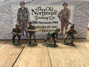 Old Northwest Trading Co:  Assorted German Infantry. 54mm Metal Models