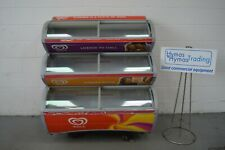 More details for iarp triple deck walls type ice cream freezer just fully serviced new gas etc