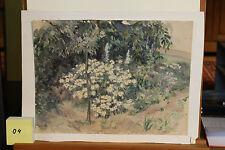 Aquarell 1957 Spätwerk Alfred Linke (1891-1959) #4