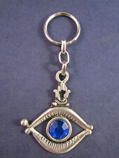 Hamsa Hand of Miriam Giant Eye Jerusalem Key Chain Ring Israel