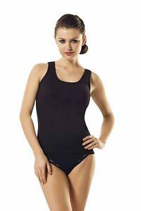 Damen Unterhemd- 4er  Pack- Achselhemd- T- Shirt 100% Baumwolle- QualitätNMLD208