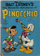 Dell FC #92: wonderful adventures of Pinocchio (Walt Kelly) 1150 $(Paperino)