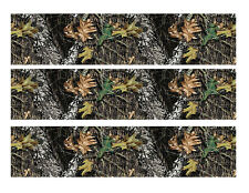 Mossy Oak Camo edible cake strips cake wraps cake topper decorations