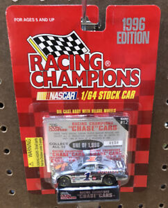 1996 Racing Champions 1:64 NASCAR Hooters Chrome Chase Car #1 - 150 Of 1996 Rare