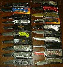 Wholesale lot - 20 pcs Spring Assist Knife (lot 1189)