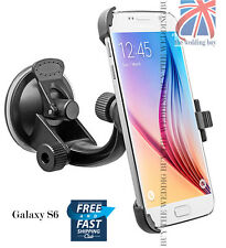 360°Rotating Windshield Suction Car Holder Mount Cradle Samsung Galaxy S6 SMG920