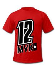 Maverick Viñales 12 Spanish Motorcycle Racer T-Shirt