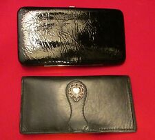 Wallet Texas Leather Manufacturing Valentine Heart ID Credit Card Check Book + 1