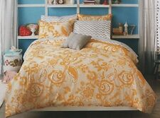 New~Xhilaration~Bed In A Bag~Sham~Twin~Full~Comfor ter~Sheets~Set~Yellow