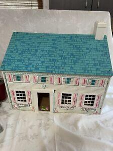 Vtg Antique  Rich Co. or Keystone? lots Room Press board Dollhouse 1960's?