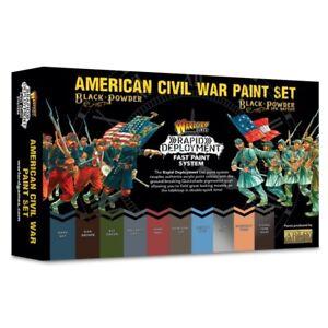 Warlord Games Black Powder: American Civil War Paint Set