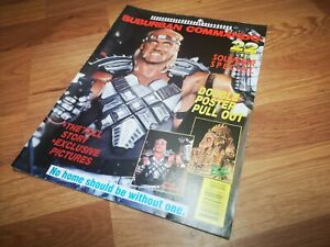 ⭐WWF Hulk Hogan⭐Suburban Commando magazine, RARE⭐