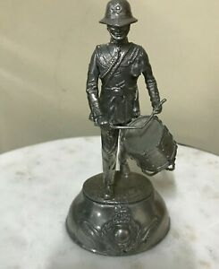 Pewter Charles Stadden Soldier Figurine - Royal Marines - 183 gms