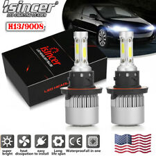 H13 LED Headlight High/Low for Dodge Ram 1500 2500 3500 2006-2012 1950W 292500LM