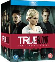 True Blood: The Complete Series - Seasons 1-7 [Blu-ray Box Set Region Free] NEW