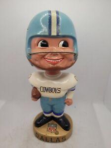 Original 1965 DALLAS COWBOYS NFL FOOTBALL TEAM BOBBLEHEAD NODDER DOLL