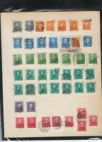 hungary early stamps page ref 18146