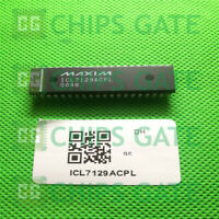 1PCS ICL7129ACPL PDIP-40 LCD Drivers Low-Noise 4 1/2 Digit Single-Chip ADC