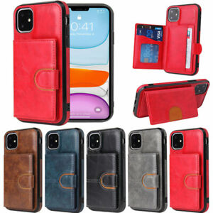 Luxury Slim Wallet Case Back Flip Cover For iPhone 12 Pro 11 XR XS Max 7 8 Plus