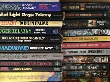 Lot Of 53 Science Fiction Books Timothy Zahn And Roger Zelazny - No Duplicates