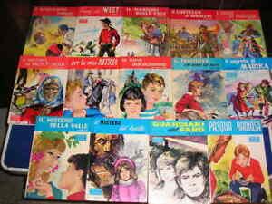 Lotto 17 libri LA BIBLIOTECA DEI MIEI RAGAZZI BAMBINI Salani cartonati vintage