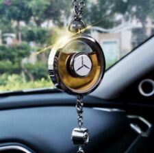 Logo style car air freshener pendent scent perfume pendant empty bottle diffuser