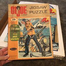 Vintage Hasbro GI Joe Puzzle War Scene