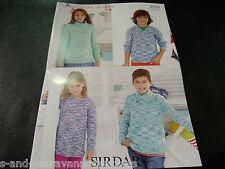 Sweaters In Sirdar Snuggly Jolly DK Yarn, Knitting Pattern 2458