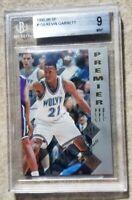 1995 SP Basketball Kevin Garnett ROOKIE RC #159 BGS 9 MINT💎💎 HOF CLASS 2020🏀