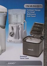 New Satin Waterpik NANO Water Flosser Travel Ultra Jet Pick Pik WP310/270