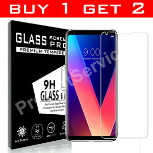 100% genuine Tempered Glass screen protector For Samsung Galaxy LG V30