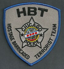 CHICAGO ILLINOIS POLICE HBT HOSTAGE BARRICADED TERRORIST HOSTAGE TEAM PATCH