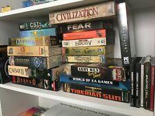 PC Big Box HUGE Lot Diablo, Civilization, Army Men Toys in Space 23 Games!