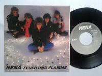 """Nena / Feuer Und Flamme 7"""" Vinyl Single 1985 mit Schutzhülle"""