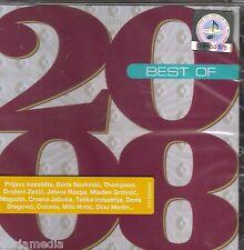 2 CD Best Of 2008 Hrvatska Thompson Boris Prljavo kazaliste Dino Milo Oliver Hit