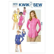 KWIK SEW SEWING PATTERN MISSES' LEOTARDS SIZE XS - XL K3272