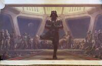 Star Wars Darth Vader Artwork. Yoga Pose. 4ft X 2.5ft. Canvas Material.