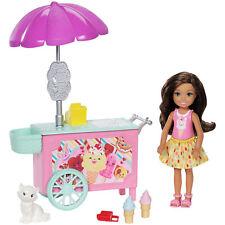 Barbie CLUB Chelsea GELATO carrello PLAYSET CON BAMBOLA & PET (FDB33) da MATTEL
