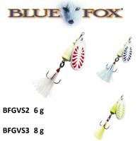 BLUE FOX VIBRAX® GLOW Spinners 6g - 8g Various Colours