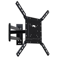 "Full Motion TV Wall Mount Bracket for most 39"" 42 43 47 49 50"" LED LCD Tilt CY0"