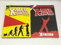 Lot of X-Men: Grand Design Vol 1 & Vol 2 Graphic Novel Treasury Edition