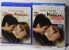 NEW JERRY MAGUIRE BLU-RAY+DIGITAL! 20TH ANNIVERSARY+ SLIP COVER! BESTBUY! SEALED