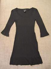 Schwarze Strickkleid von H&M    Gr. XS