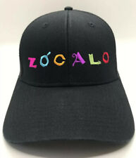 Zócalo Cap Hat Black Trucker Snapback Polyester Cotton