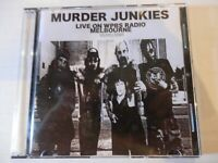 MURDER JUNKIES AUSTRALIAN RADIO BROADCAST CD 2010- GG ALLIN MENTORS ANTISEEN
